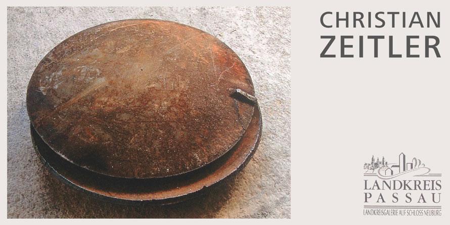 Einladung zur Ausstellung Christian Zeitler