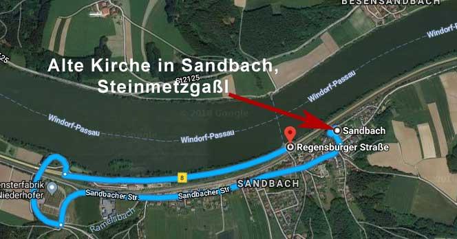 Alten Kirche in Sandbach